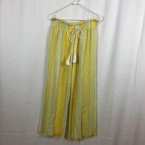 Indigo Rein linen/rayon loose fit pants L